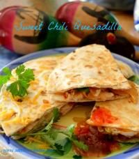 quesadilla asian quesadilla with chicken zucchini hoisin sauce sweet ...