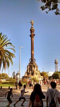Monumento a Colón, Barcelona