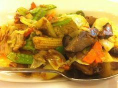 stir fried veggies.. - at Shangri-la Plaza Mall