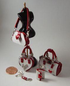 ••  Miniaturas bolsos: Bolsos colección San Valentín