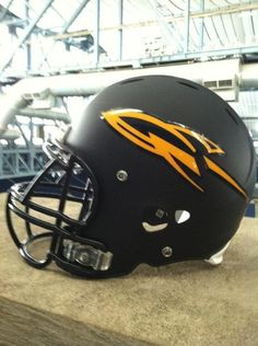 The Toledo Rockets new helmet!#Pin By:Pinterest++ for iPad#