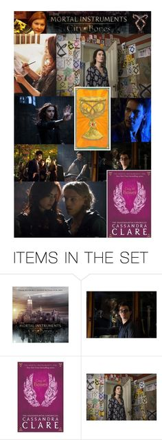 """""""Requested set (@jasminatorsareforever)- The Mortal Instruments: City of Bones by Cassandra Clare"""" by hangar-knjiga ❤ liked on Polyvore featuring art, reading, books, bookworm, shadowhunters and themortalinstruments"""