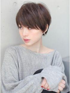 大人かわいい前髪ショート【neaf 犬塚優介】