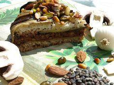 Gâteau d'aubergines Libanais version vegan.