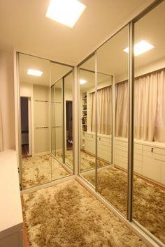 Bedroom Closet Doors, Bedroom Closet Design, Bedroom Wardrobe, Wardrobe Closet, Wardrobe Door Designs, Closet Designs, Walk In Closet Design, Closet Layout, Decoration Bedroom