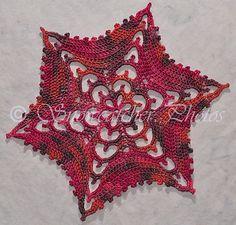 Ravelry: Valentine Wave II Snowflake free crochet pattern by Deborah Atkinson