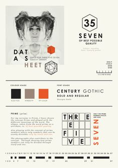 Self promotion { Graphic Designer } by Wanda Priem, via Behance