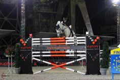 Canadian Courtney Vince and Valetto JX jumping 2m17 (approx. 7-foot-2). AMAZING!