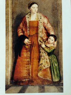 Paolo Veronese Livia da Porto Thiene and her Daughter Porzia, , Walters Art Gallery, Baltimore. Read more about the symbolism and interpretation of Livia da Porto Thiene and her Daughter Porzia by Paolo Veronese. Costume Renaissance, Die Renaissance, Renaissance Kunst, Renaissance Portraits, Renaissance Fashion, John Singer Sargent, High Society, Rembrandt, Michelangelo