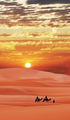 Sahara Desert..