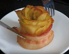 Вкусный гарнир - розы из картофеля