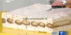 Tiramisù torronato ricetta Montersino La Prova del Cuoco   Cucina in tv