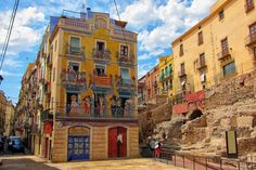 https://flic.kr/p/qEaQqk   Tarragona Mural   Saw this beautiful and colourful Mural on the side of this building in Tarragona in Spain..Some talent here..Just googled this place and it was painted by a bloke from Barcelona called Carles Arola Vera