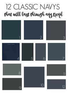 12 Clic Navy Paint Colors That Will Outlast Any Trend City Farmhouse Behr