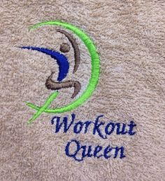 A personal favorite from my Etsy shop https://www.etsy.com/listing/229127724/color-guard-or-workout-towel