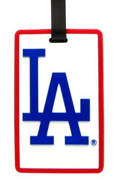 Los Angeles Dodgers - MLB Soft Luggage Bag Tag by aminco. $7.95. Attractive laser cut rubber luggage tag with Los Angeles Dodgers colors and logo. Reverse side contains clear window housing your contact information.