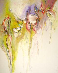 """Saatchi Online Artist Mary Ann Wakeley; Painting, """"Wonder World"""" #art"""