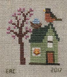 Mini gardens 370210031868906323 - Garden Grumbles and Cross Stitch Fumbles Sour. - Mini gardens 370210031868906323 – Garden Grumbles and Cross Stitch Fumbles Source by katryndd - Biscornu Cross Stitch, Cross Stitch House, Mini Cross Stitch, Cross Stitch Cards, Simple Cross Stitch, Cross Stitching, Cross Stitch Embroidery, Hand Embroidery, Cross Stitch Designs
