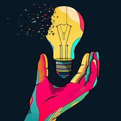 Hackathon Reply by Van Orton Design Event Poster Design, Creative Poster Design, Creative Posters, Graphic Design Posters, Graphic Design Illustration, Graphic Design Inspiration, Digital Illustration, Arte Pop, Living At Home