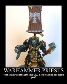 Warhammer 40k Demotivational humor