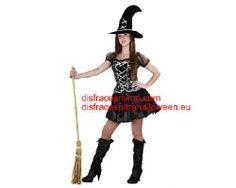 Tu mejor disfraz de bruja traviesa para mujer bt 8041 Con ese bonito Disfraz de Bruja traviesa para mujer hechizarás a todos con tu belleza en Despedidas de Soltera, Fiestas de Disfraces o Carnavales