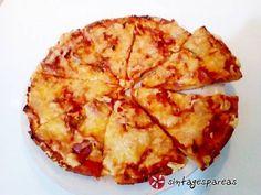 Αφράτη σπιτική πίτσα με χειροποίητη ζύμη Cookbook Recipes, Cooking Recipes, Pizza Hut, Quiche, Lemon, Food And Drink, Sweets, Cheese, Breakfast