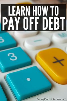 The simple way to pay off debt - this method works for anyone! via @PennyPinchinMom