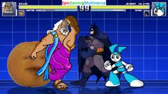 Zeus The God Of Thunder And Batman VS Jenny Wakeman & Annoying Orange In A MUGEN Match / Battle This video showcases Gameplay of The Annoying Orange And Jenny Wakeman The Robot From The My Life As A Teenage Robot Series VS Zeus The God Of Thunder From Hercules The Animated Series And Batman The Superhero In A MUGEN Match / Battle / Fight
