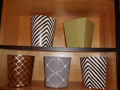 Chic Trashcans.. in Verve Now!