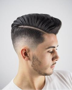 "4,260 Likes, 14 Comments - Men's hairstyles inspiration (@4hairpleasure) on Instagram: ""Like us on Facebook.com/4hishair 👍🏻. ✂️ by @ambarberia. #4hairpleasure #ratethishairstyle"""