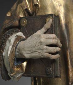 Detail -  Saint Stephen, 1502-1508. Tilman Riemenschneider (German, c. 1460-1531)