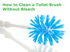 Olivia Cleans Green: How to Green Clean a Toilet Brush & Plunger