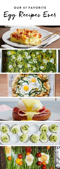 Our 47 Favorite Egg Recipes Ever  #purewow #food #recipe #under 30 minutes #eggs