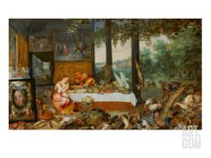 Smell by Jan Bruegel the Elder
