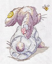 Baby-carriage, free cross stitch patterns and charts - www.free-cross-stitch.rucniprace.cz