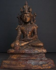 Burmese Arakan Bronze Crowned Buddha Statue  Buddha Art, Ideas Nature , HomeMore Pins Like This At FOSTERGINGER @ Pinterest