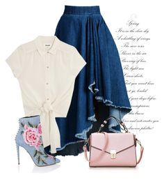 """""""Spring romance"""" by arzuyalhi on Polyvore featuring WithChic"""