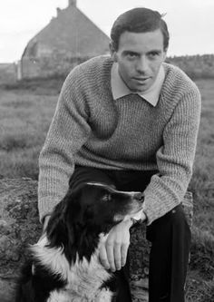 Jim Clark at his Berwickshire Farm