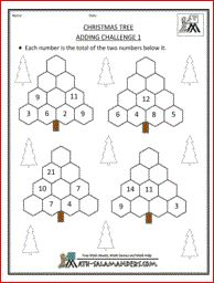 math worksheet : christmas tree addition and subtraction 1 a christmas math  : Christmas Math Games For Kindergarten