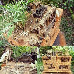 Cu Chi Tuneis Vietnã 1964 1/35 Super Diorama from Dioramas Toledo #scalemodel #plastimodelismo #miniatura #diorama #vietnam #war #guerra #guerre #bataille #modelismo #modelism #modelisme #miniatur #miniature #maqueta #maquette #scalemodelkit #plasticmodel #plastimodelo #plastickits #usinadoskits #udk