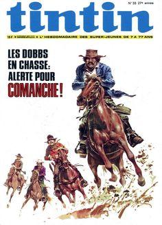 Le Journal de Tintin - Edition Belge - N°  1352 - 1972-33 - Mardi 15 Août 1972 - Couverture : Hermann Huppen
