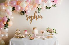 Pink And Gold Birthday Party Pink And Gold Birthday Party Http Www Com 2017 07 27 Pink And Gold Ballet Inspired Girls Birthday Party 18th Birthday Party Ideas For Girls, Pink And Gold Birthday Party, Birthday Cakes For Teens, Birthday Party Decorations, Birthday Parties, 18th Birthday Decor, 15 Birthday, Girl Parties, 21st Party