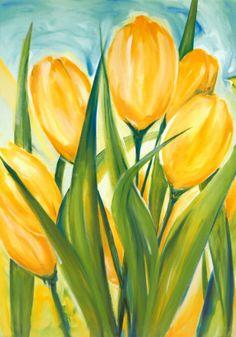 my nanny loved tulips (: