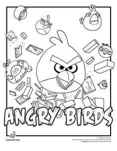 39 best angry birds papercraft images angry birds paper art Angry Birds Pig Pinata get the angry birds and green pigs coloring pages from the super popular video game