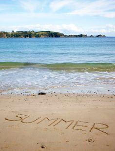 New Zealand summer... a perfect holiday #summer #beach  #NewZealand