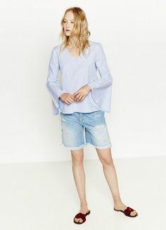 Jetzt shoppen: Bermudashorts von Zara, um 25 €