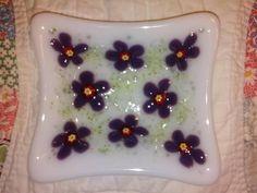 Custom ordered soap dish - GLASS CRAFTS