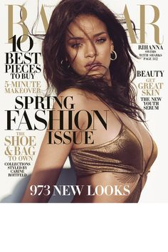 Bazaar's March 2015 issue