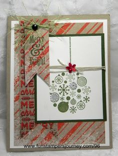 Christmas Card | Fun Stampers Journey
