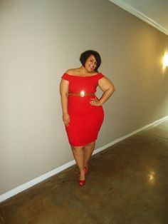 The Curvy Girl's Guide to Style <3 this dress!